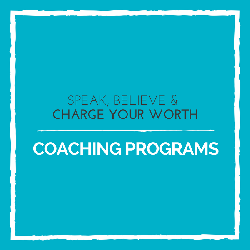 Coaching Pricing Programs