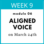 Pricing An Aligned Voice