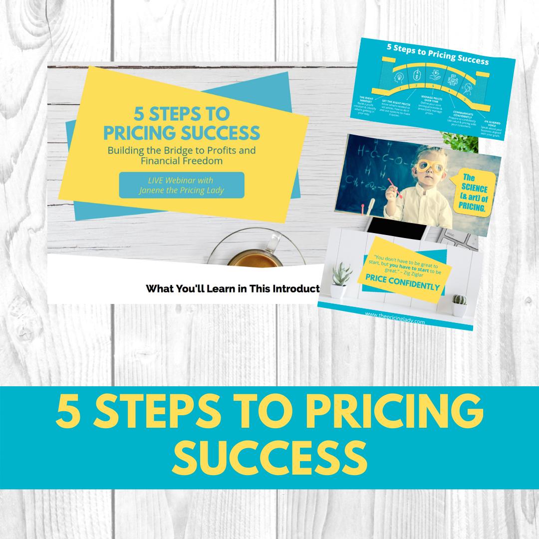 Pricing Webinar