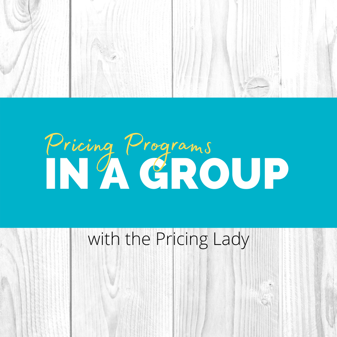 Pricing Programs in a group