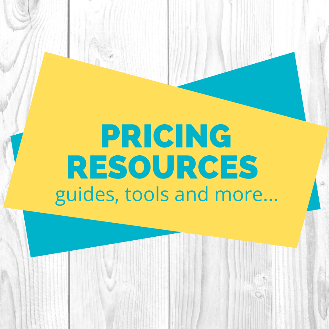 Pricing Resources guides, tools and more...