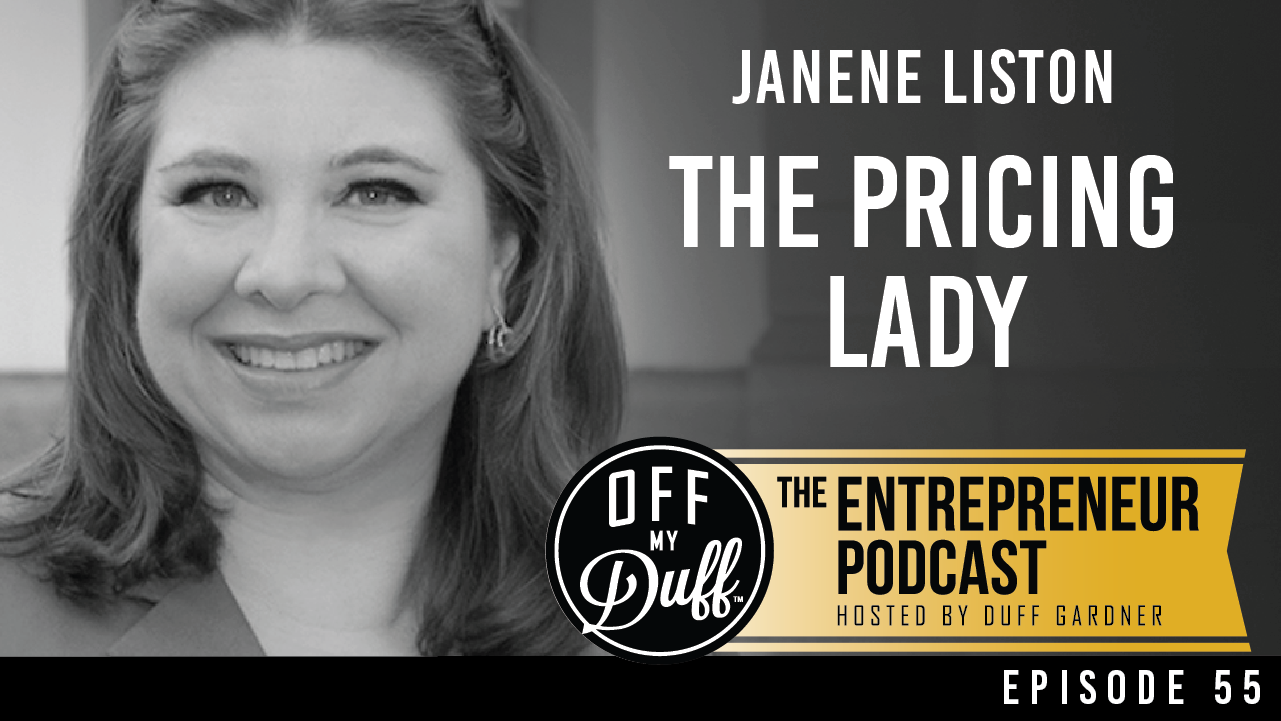 The Pricing Lady on the Off My Duff Podcast